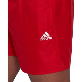 adidas Solid CLX Short Length Shorts Men, rojo